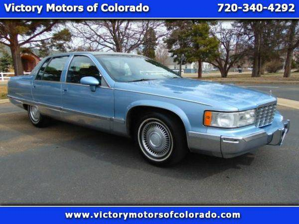 1993 *Cadillac* *Fleetwood* Sedan - Over 450 Vehicles to Choose From!