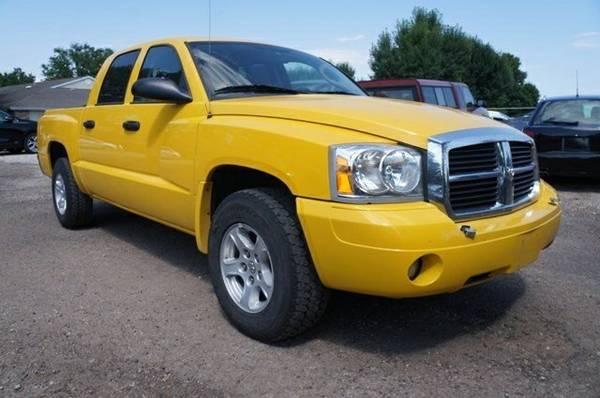 2007 Dodge Dakota Crew Cab Pickup SLT