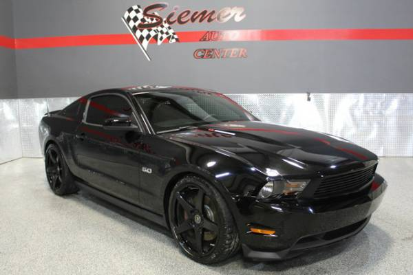 2012 Ford Mustang GT*THIS ONE WILL GO FAST, BACK IN BLACK! CALL TODAY!