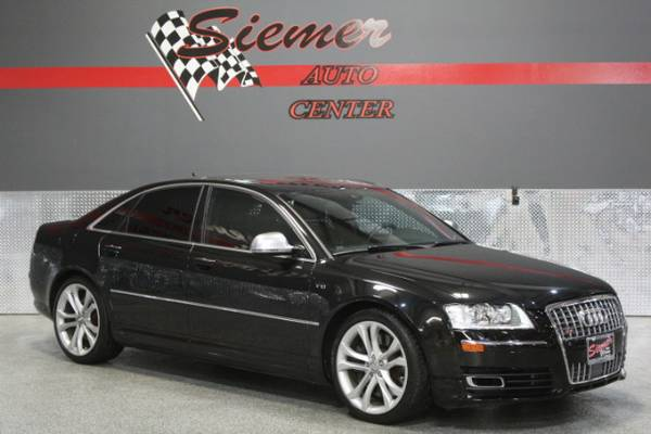 2009 Audi S8*BLACK BEAUTY! THIS ONE HAS IT ALL, CALL US