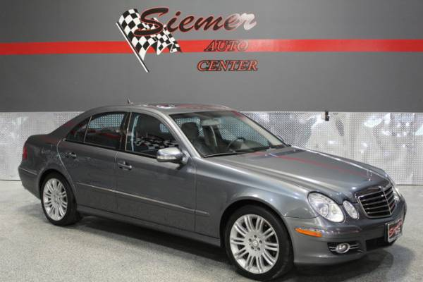 2008 Mercedes-Benz E550*OWN THIS LOW MILE LUXURY CAR TODAY, WE FINANCE
