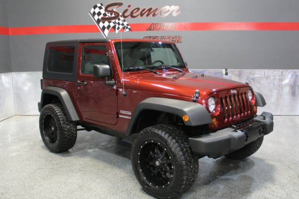 2010 Jeep Wrangler Sport*LIFTED, LOADED, TOW PACKAGE, ONLY 55K MILES*