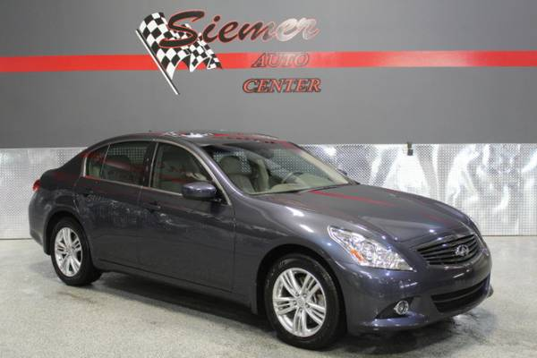2013 Infiniti G37X*SUN ROOF, BLUE TOOTH, LEATHER/HEATED SEATS, CALL US