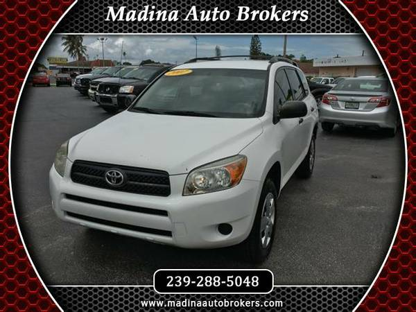 2007 Toyota RAV4 Base I4 2WD - YOUR JOB IS YOUR CREDIT!