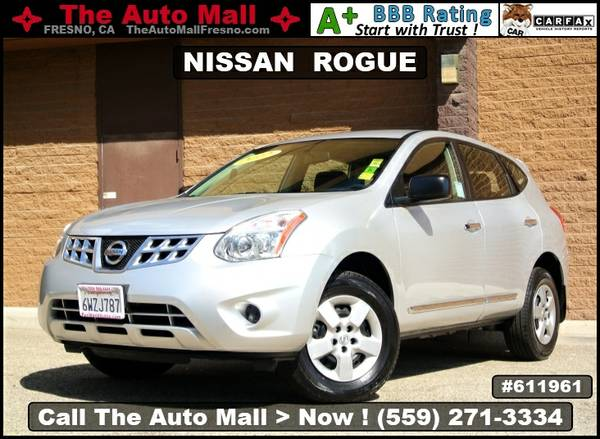 2012 NISSAN ROGUE S * CARFAX 1-OWNER VEHICLE