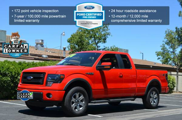 2013 FORD F150 SUPERCAB FX4 LUXURY PACKAGE LEATHER NAVIGATION!