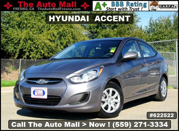 2014 HYUNDAI ACCENT GLS * CARFAX 1-OWNER * SATELLITE RADIO
