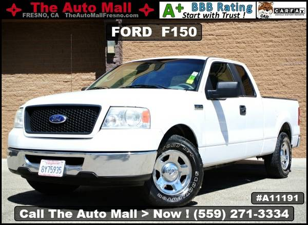 2006 FORD F150 XLT EXTENDED CAB