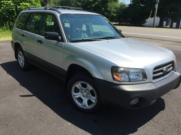 2005 Forester AWD AUTO. 125K 2 owners & N0 accidents
