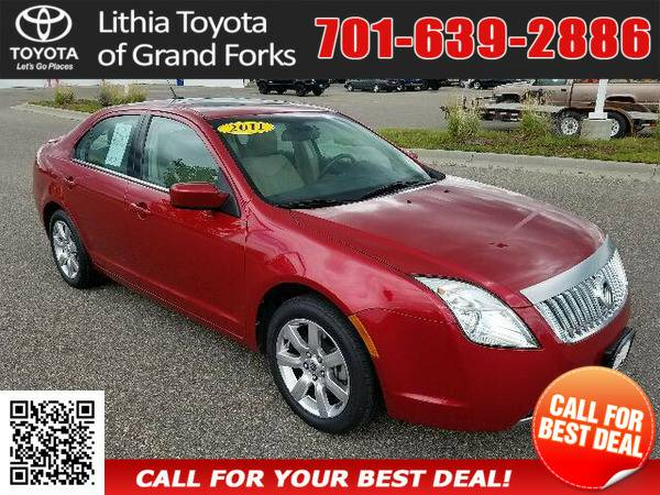 2011 MERCURY MILAN PREMIER RED