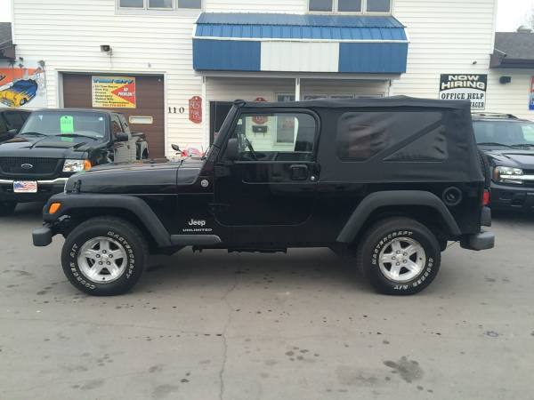 ★★★ 2006 Jeep Wrangler Unlimited 4x4 / Inline 6...