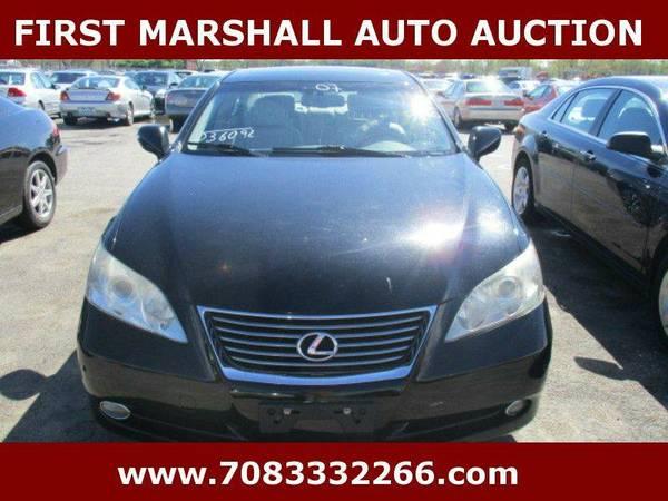 2007 Lexus ES 350 Base 4dr Sedan - First Marshall Auto Auction