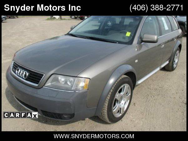 2004 Audi Allroad Quattro AWD ONLY 67k New Tires Bose Leather Moonroof