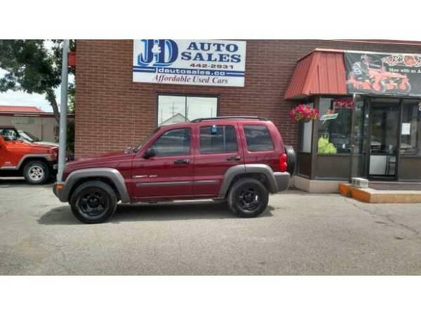 2002 Jeep Liberty Sports