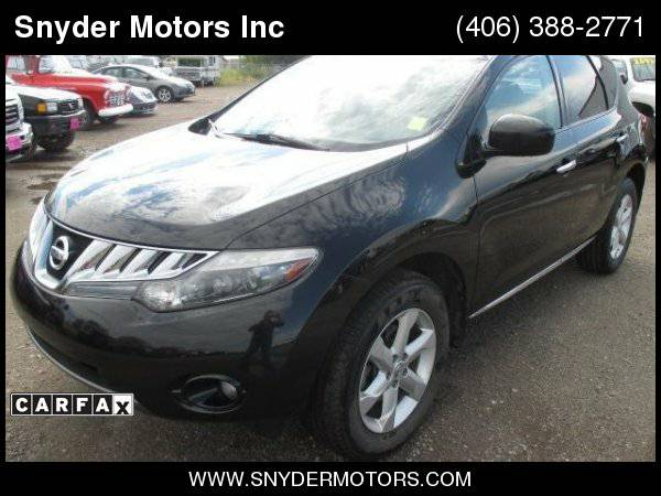 2010 Nissan Murano AWD Leather Back Up Camera Sunroof