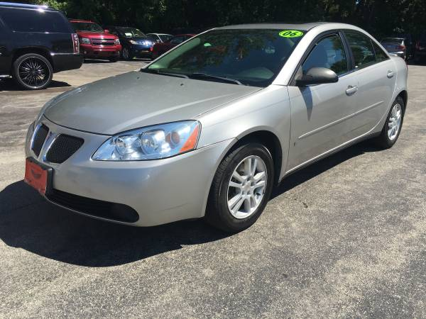 2006 PONTIAC G6 NEWER TIRES AND BRAKES MAKING ROOM FOR NEW INVENTORY