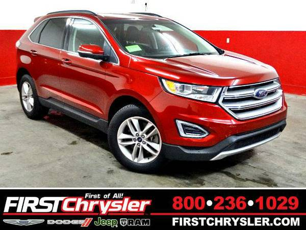 2015 *Ford Edge* SEL-AWD - Ford Ruby Red Metallic Tinted Clearcoat