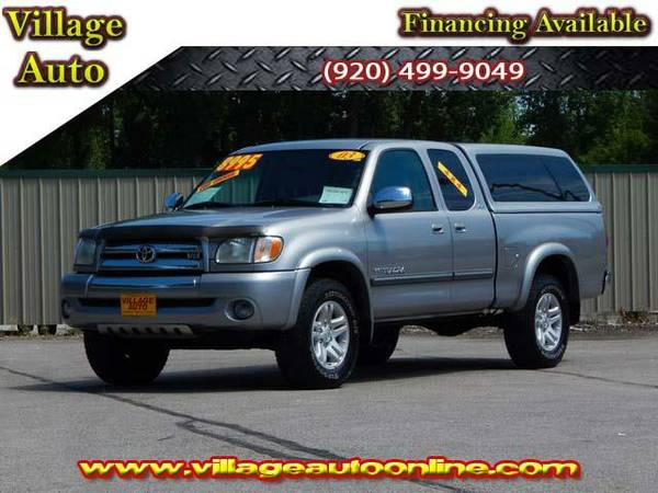 2003 *Toyota Tundra* Access Cab SR5 4x4 *One Owner* - Gray-TRADE INS...