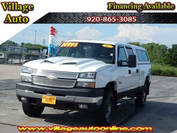 2007 *Chevrolet Silverado 2500* LT Crew Cab Shortbox *4x4*Diesel*...
