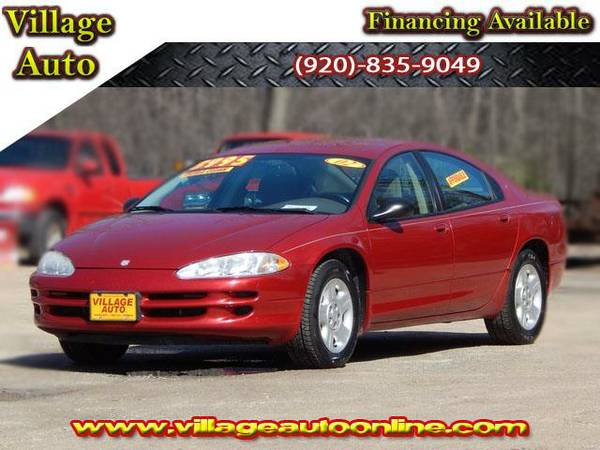 2002 *Dodge Intrepid* SE - Maroon-TRADE INS WELCOME!