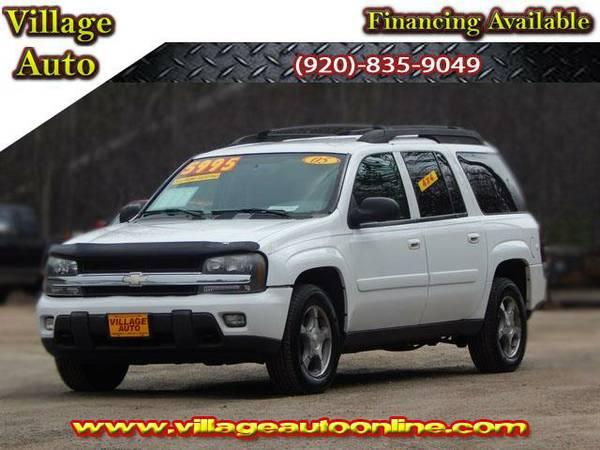 2005 *Chevrolet TrailBlazer EXT* LT 4X4 - White-TRADE INS WELCOME!