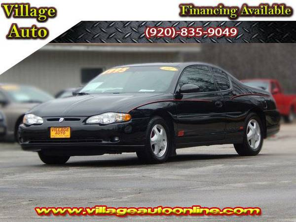 2001 *Chevrolet Monte Carlo* SS - Black-TRADE INS WELCOME!