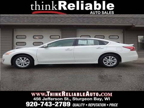 2014 NISSAN ALTIMA 2.5S 1-OWNER CARFAX SPOILER PEARL WHITE 29K MILES!!