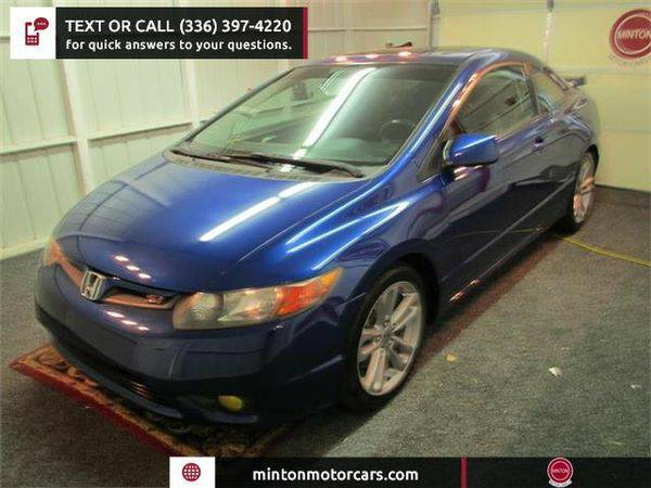 2008 *Honda* *Civic* Si Coupe with Navigation and Performance Tires...