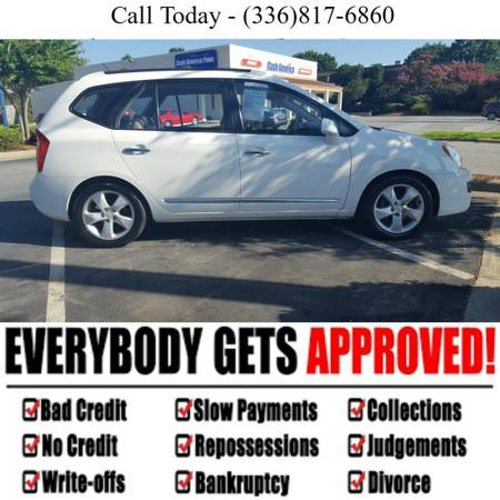 Kia Rondo - 3 Year Warranty - Approval not based on Credit