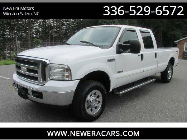 2005 FORD F250 SUPER DUTY Diesel! 4WD!, White