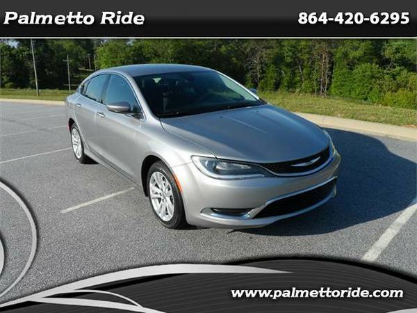 2015 Chrysler 200 Limited w/ Only 19k Miles...1 Owner/No Accidents