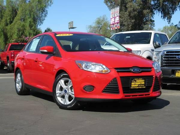 2014 *Ford Focus* Sedan SE - (Red) 4 Cyl.