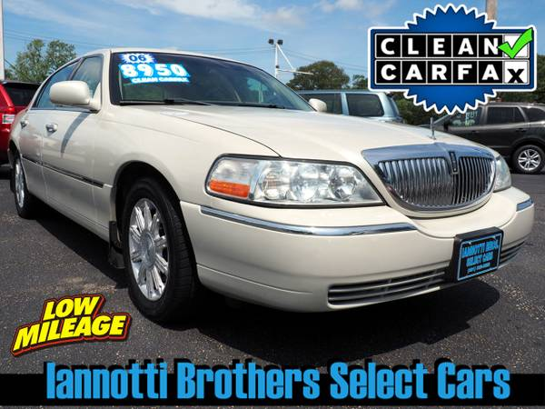 2006 Lincoln Town Car Signature Limited V-8 Loaded 77K $41 Per Week