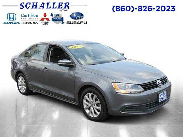 2011 Volkswagen Jetta Sedan 4dr Car SE w/Convenience PZEV