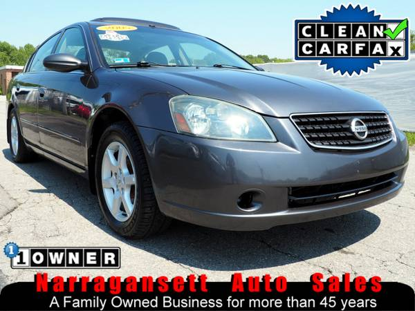 2005 Nissan ALTIMA 2.5 S Auto Air Full Power CD Moonroof 131K