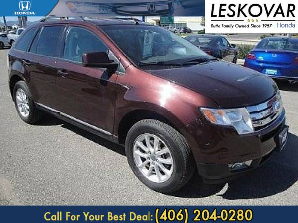 *2009* *Ford Edge* *Station Wagon SEL* *Maroon*