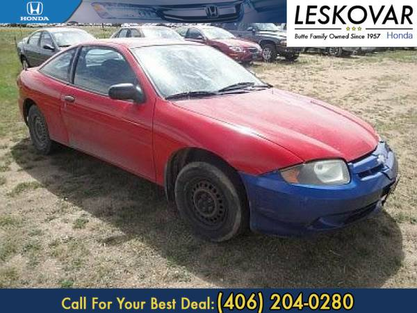 *2003* *Chevrolet Cavalier* *2dr Car Base* *Victory Red*