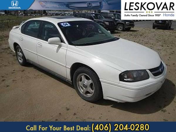 *2004* *Chevrolet Impala* *4dr Car Base* *White*
