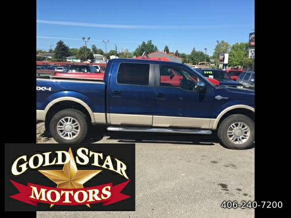 2010 FORD F-150 SUPER CREW KING RANCH- NAV, SUNROOF, LOADED!! GREAT...