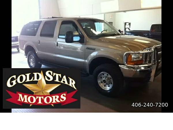 2000 FORD EXCURSION XLT 4WD- RUNS GREAT! AFFORDABLE!!