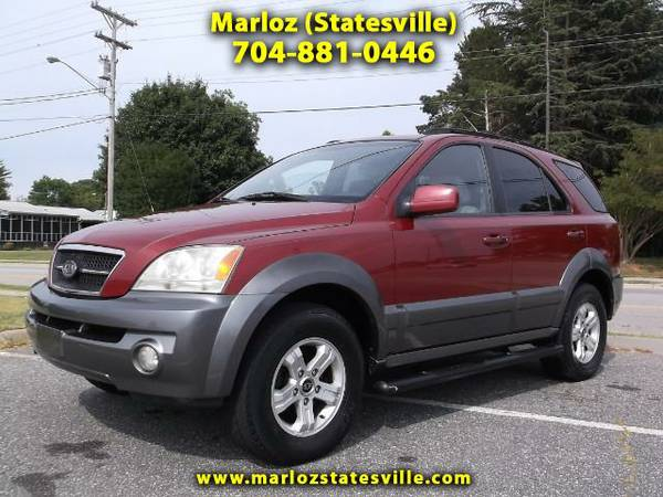 GREAT DEAL**2004 Kia Sorento LX 4WD - Call For More Information