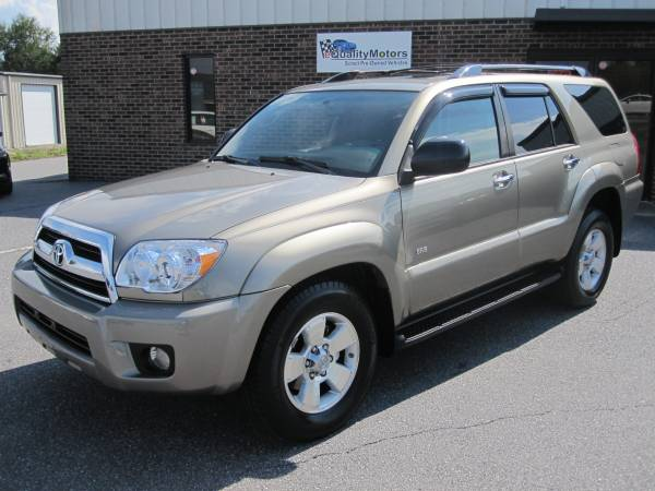 2006 TOYOTA 4 RUNNER SR5 **INSPECTED**RECONDITIONED**READY TO DRIVE**