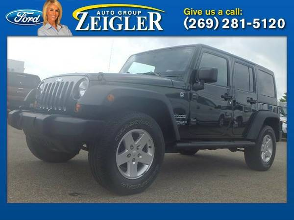 2011 Jeep Wrangler Unlimited Sport SUV Wrangler Unlimited Jeep