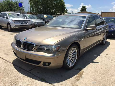 2007 BMW 750 GOLD
