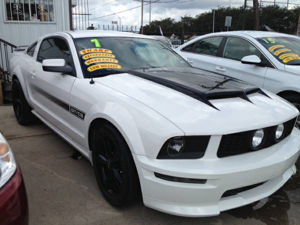 2007 FORD MUSTANG GT WHITE