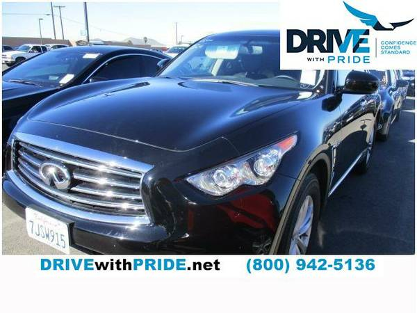 2015 Infiniti QX70 - $0 Payment for 90 Days