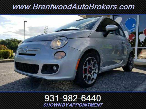 2012 *Fiat* *500* Sport WE ARE THE BANK- OPEN ON SUNDAYS!