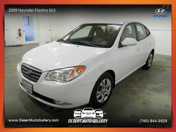 2009 Hyundai Elantra GLS Sedan with 83,244 miles