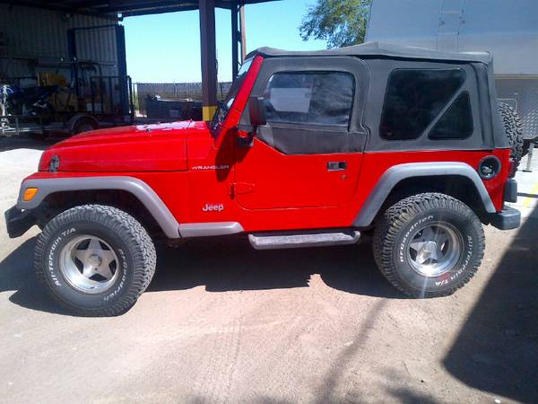 Even####1997 JEEP WRANGLER WILL TRADE WHAT DO YOU HAVE ####
