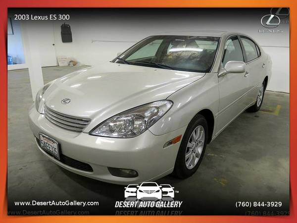 2003 Lexus ES 300 Sedan at a PRICE YOU CAN AFFORD